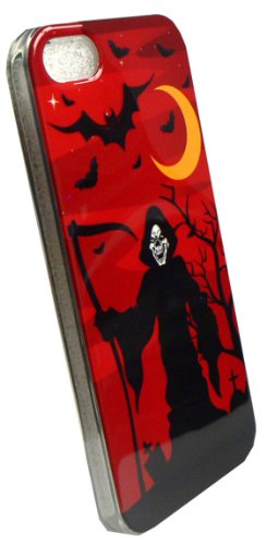 Cell Armor Deluxe Silicone Skin Case for iPhone 5/5S - Retail Packaging - Halloween Series