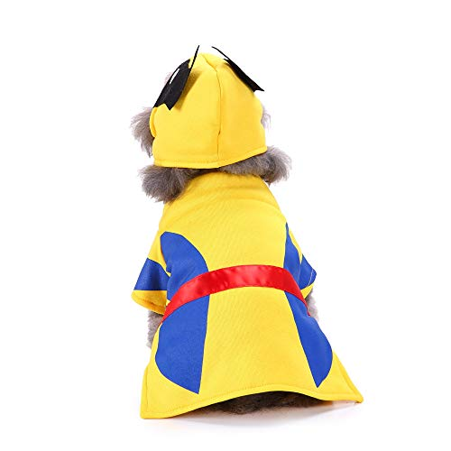 Lmtime Pet Dog Halloween Cosplay Wolverine Costume Clothes Festival Fashion Clothing with -