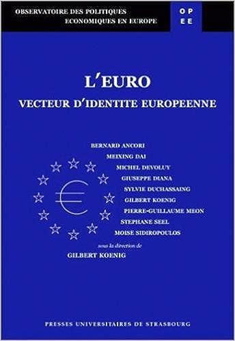 Livre L'Euro, vecteur d'identité européenne pdf, epub ebook