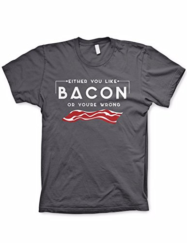 Ptshirt.com-19024-You either like bacon or you\'re wrong shirt funny bacon shirts funny tees-B017BNY0E0-T Shirt Design