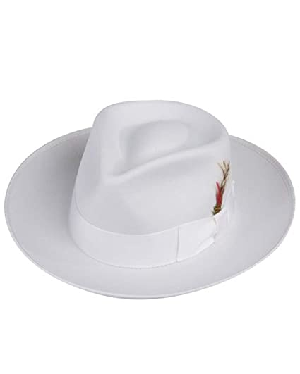 Zoot Fedora Hat in White at Amazon Men s Clothing store  8a4b0ddd5f94