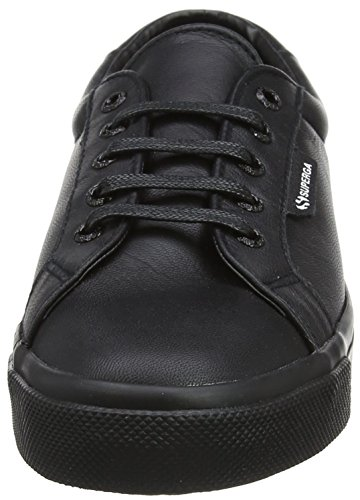 Superga Unisex 2804 Nappau - Total Sort (skinn) Womens Trenere ...