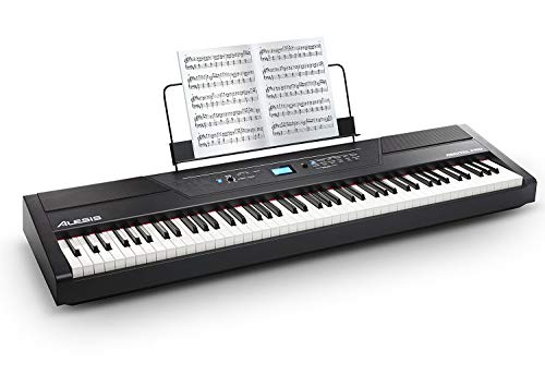 - Alesis Recital Pro | Digital Piano / Keyboard with 88 Hammer Action Keys, 12 Premium Voices, 20W Built-in Speakers, Headphone Output and Educational Features