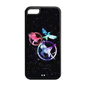 DIY Fashion The Hunger Games High Quality Durable Hard Rubber Gel Silicon Cover Case for iPhone 5C