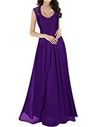 Women's Casual Deep- V Neck Sleeveless Vintage Wedding...