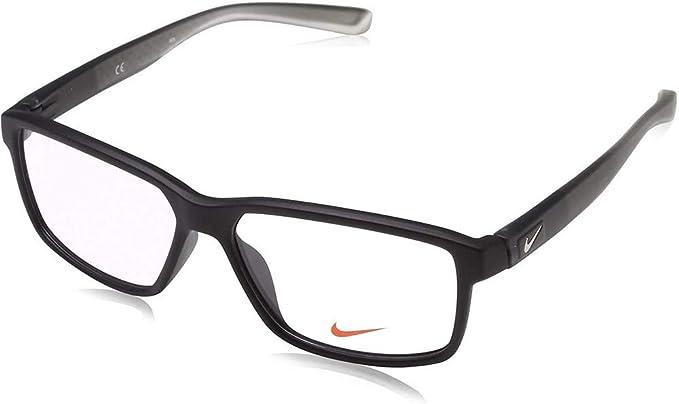 Violín granizo distrito  Nike Men's 7092 010 55 Optical Frames, Black (Matte Black/Anthracite/Cl):  Amazon.co.uk: Clothing