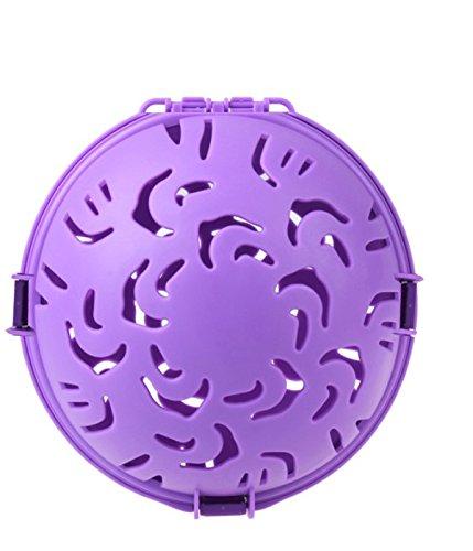 Dr.Koyama Bra Wash Ball for Laundry Washing Machine Dryer Bra Protector Prevent Distortion Deforming Purple Free Maid Ball ...