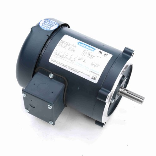 Leeson Electric 101965.00 - General Purpose Motor - 3 ph, 1/4 hp, 3600 rpm, 208-230/460 V, 48CZ Frame, Totally Enclosed Non Ventilated Enclosure, 60 Hz, Round Mount ()