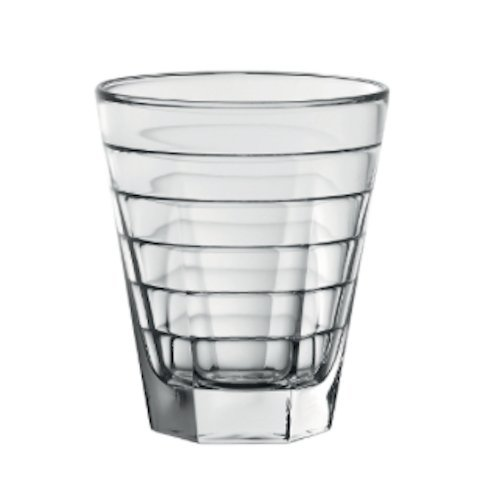 D&V Anelli Collection Double Old Fashioned Cocktail Glass, 11.5 Ounce, Set of (Anelli Collection)