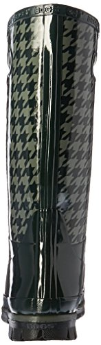 Botas De Lluvia De Pata De Gallo Berkley Mujeres Dark Green / Multi