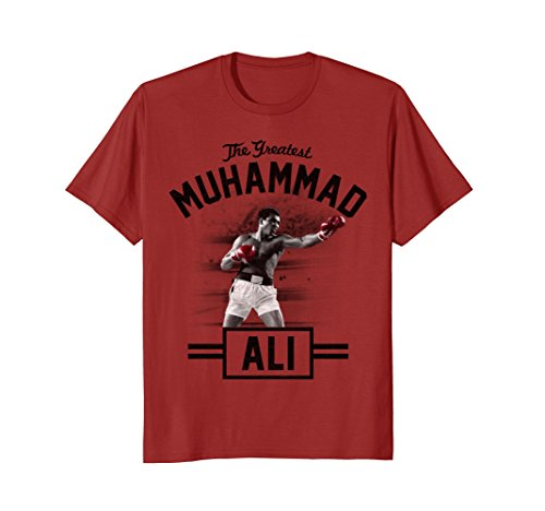 Muhammad Ali The Greatest Standing Tall T Shirt