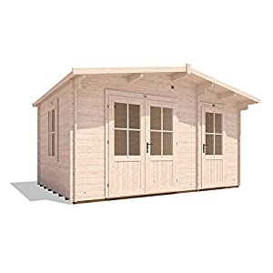 Dunster House Multi Room Log Cabin 4.5mx3m 28mm