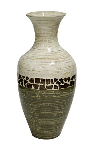 Heather Ann Creations Terry Bamboo Spun Floor Vase