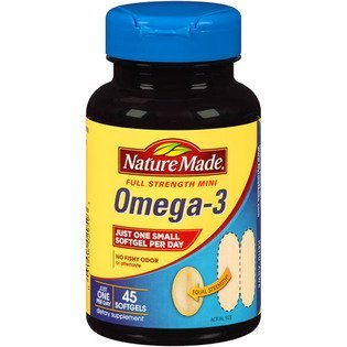 Nature Made Omega  Full Strength Mini Softgels  Count