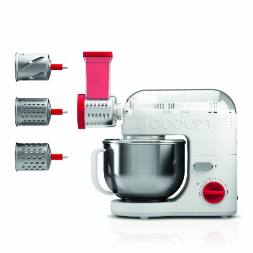 Bodum 11515 10 Bistro Stand Mixer Slicer Shredder