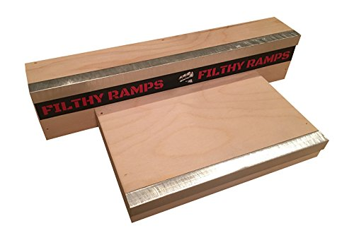 Filthy Fingerboard Ramps Podium Fun Box for Finger tech Deck, from by Filthy Fingerboard Ramps