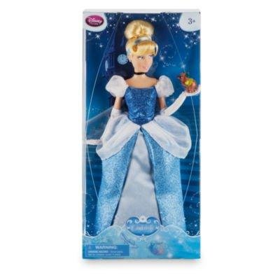 """DISNEY STORE 12"""" CINDERELLA CLASSIC DOLL WITH GUS GUS"""
