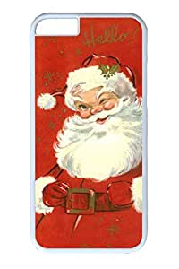 iPhone 6 Case, Personalized Unique Design Covers for iPhone 6 PC White Case - Santa Claus Smell