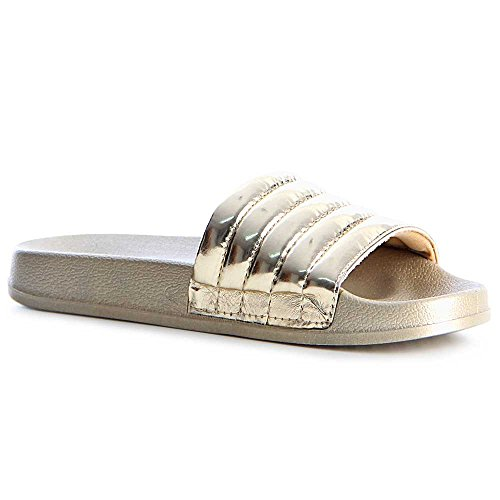 topschuhe24 - Sandalias de vestir de otros para mujer dorado