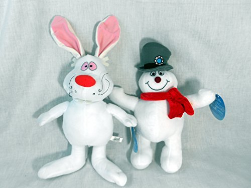 Frosty the Snowman Set of 2 With Frosty and Hocus Pocus the Magic Rabbit (Magic Set Pocus Hocus)