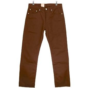 Pantalon w32 Droitregular L34 505 Levi's® BrunTaille CBedoxWr