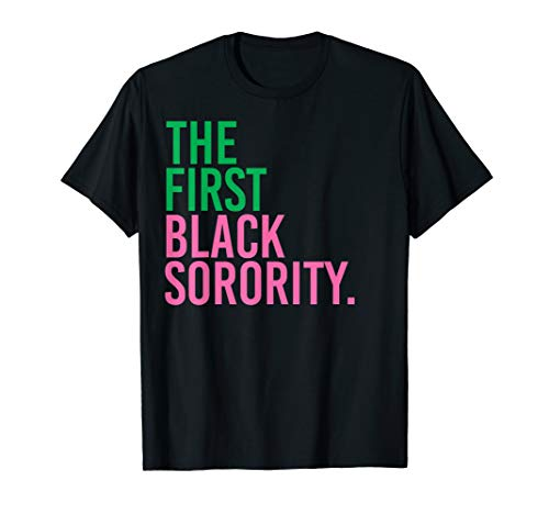 The First Black Sorority - AKA Shirts - AKA Paraphernalia T-Shirt ()