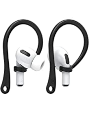 elago Ear Hooks Compatible for Apple AirPods Pro AirPods 2&1 [US Patent Registered] (Black)