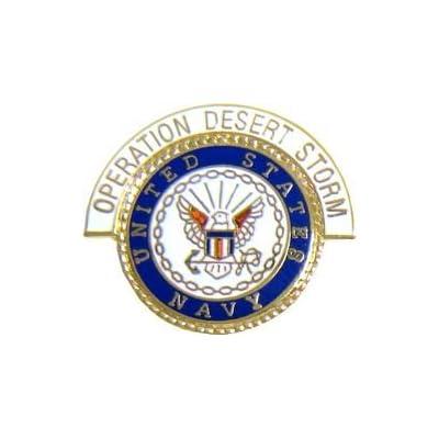 Discount US Navy Desert Storm Lapel or Hat Pin supplier
