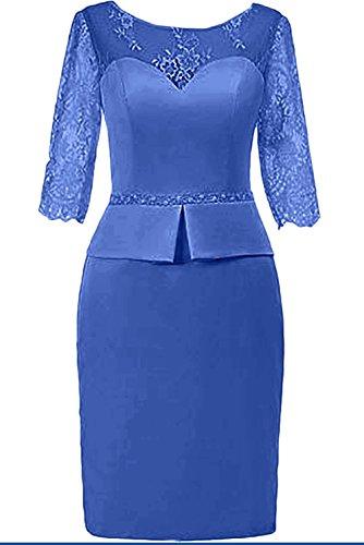 La Blau Herrlich Cocktailkleider Royal Rosa Damen Spitze mia Abendkleider Tanzenkleider Ballkleider Braut Kurz Promkleider Rock Mini r4CwrgxZq