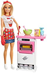 Barbie Bakery Chef Doll & Playset, Blonde