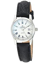 Grovana Women's 3215-1539 Traditional Analog Display Swiss Quartz Black Watch