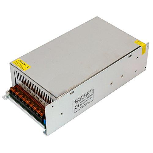 Yaetek AC110V/220V to DC12V 50A 600W Switch Power Supply Driver for LED Light