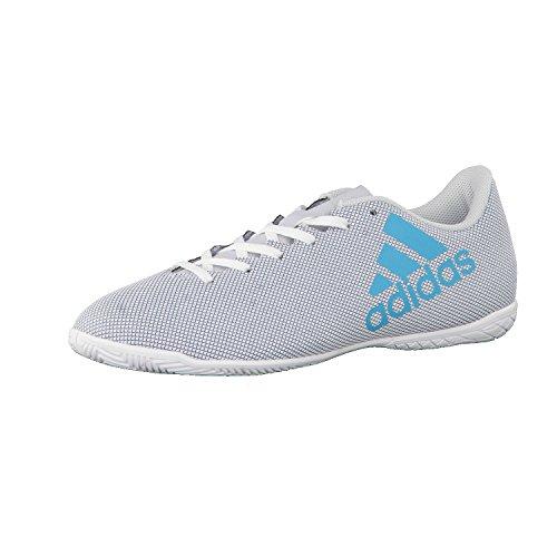 adidas X 17.4 In, Zapatillas de Fútbol Sala para Hombre Blanco (Ftwbla/Azuene/Gritra)