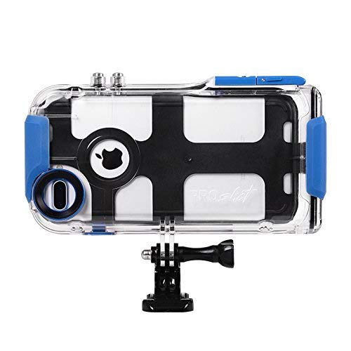 and 6 Plus and Compatible with All GoPro Mounts 7 Plus ProShot Touch Waterproof Case Compatible with iPhone 8 Plus