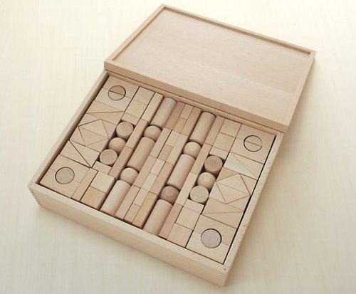 【一部予約販売】 木製おもちゃのだいわ B0019GW23C 積木 セット 3B セット 3B 137pcs B0019GW23C, 師勝町:e4443882 --- vezam.lt