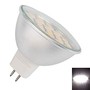 Mzamzi - Gran valor spot bombillas mr16 5w proyector de la bombilla de plata 27 led 500lm 6000- 6500k luz blanca led ( 85 -265v )