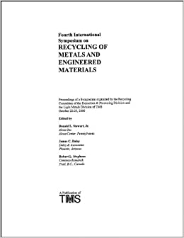 Book 4th International Symposium of Recycling of Metals and Engineered Materials