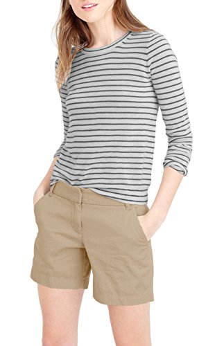 Womens Super Comfy Bermuda Walking Short BW31201 BEIGE/KHAK 13 Womens Perfect Khaki Shorts