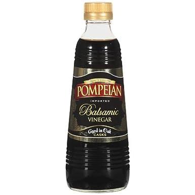 Pompeian Vinagre 16oz Botella de vidrio (3 unidades ...