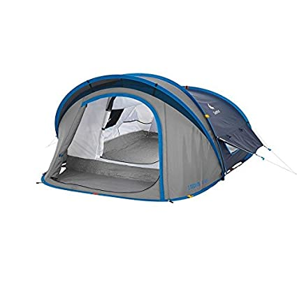Quechua Waterproof Pop Up C&ing Tent 2 Seconds XL AIR II 2 Man  sc 1 st  Amazon.com & Amazon.com : Quechua Waterproof Pop Up Camping Tent 2 Seconds XL ...