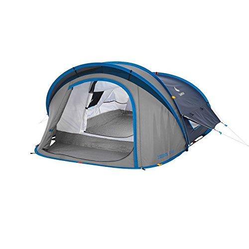 Quechua Waterproof Pop Up Camping Tent 2 Seconds XL AIR II, 2 Man