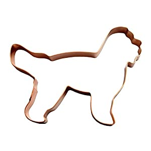 Barbet Copper Dog Cookie Cutter 6