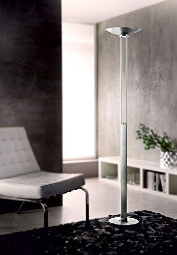 Holtkotter Satin Nickel Floor Lamp - Holtkotter 2715LED SN Nauticus - 70