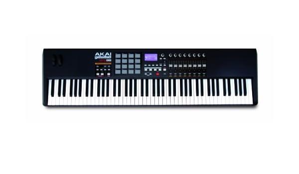 Akai MPK88 - Mpk-88 teclado controlador midi usb 88 notas 16 pads: Amazon.es: Instrumentos musicales
