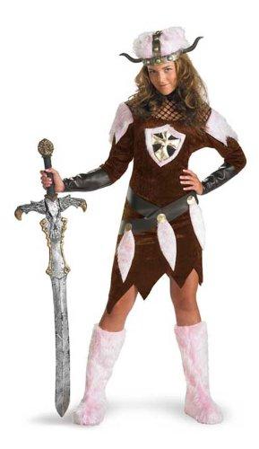 Disguise 2474T - Disfraz de vikinga, talla 36: Amazon.es: Juguetes ...
