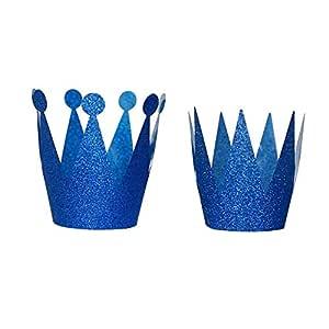 Brussels08 - 6 Sombreros de Papel con Purpurina para Fiesta ...