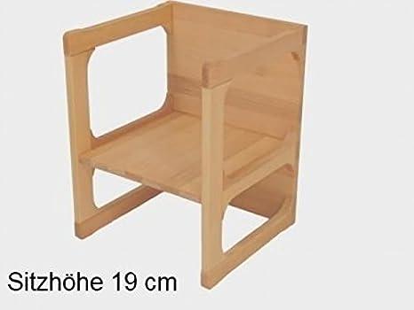 Bar in legno sgabello con sedile e schienale imbottiti girevole