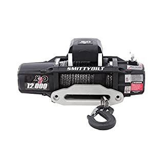 Smittybilt (98512) X2O Waterproof Synthetic Rope Winch - 12000 lb. Load Capacity (B00K150X2E) | Amazon price tracker / tracking, Amazon price history charts, Amazon price watches, Amazon price drop alerts