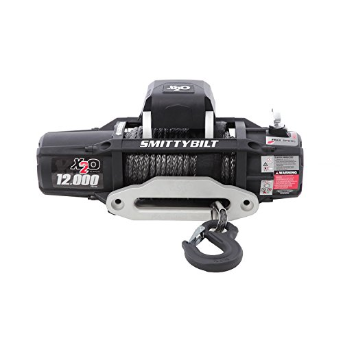 Smittybilt (98512) X2O Waterproof Synthetic Rope Winch - 12000 lb. Load Capacity ()