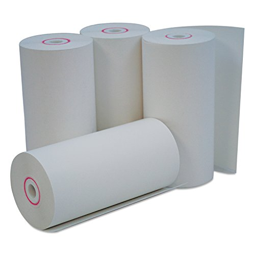 (Universal 35765 Single-Ply Thermal Paper Rolls, 4 3/8